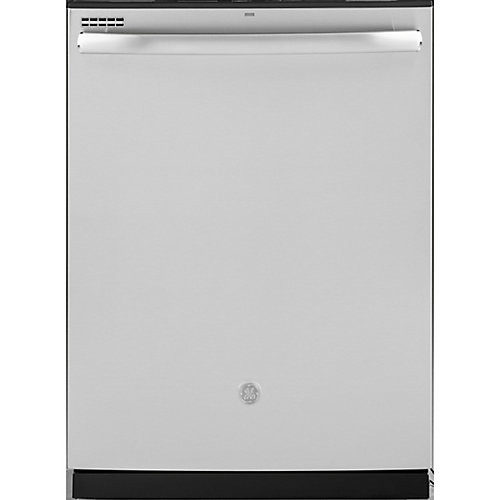 24-inch Top Control Built-In Tall Tub Dishwasher in Stainless Steel with Steam Cleaning