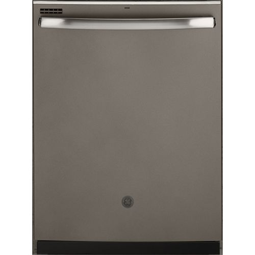 24-inch Top Control Tall Tub Built-In Dishwasher in Slate with Hidden Controls