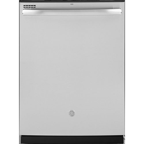 24-inch Top Control Built-In Tall Tub Smart Dishwasher with Steam Cleaning and 48 Dba in Stainless Steel