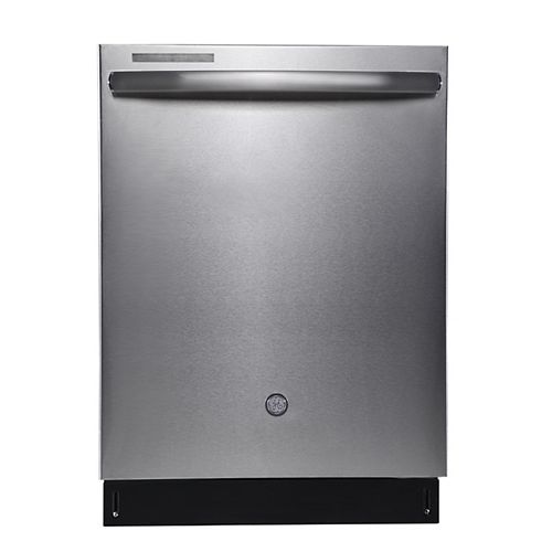 24-inch Top Control Tall Tub Built-In Dishwasher in Stainless Steel with Stainless Steel Tub