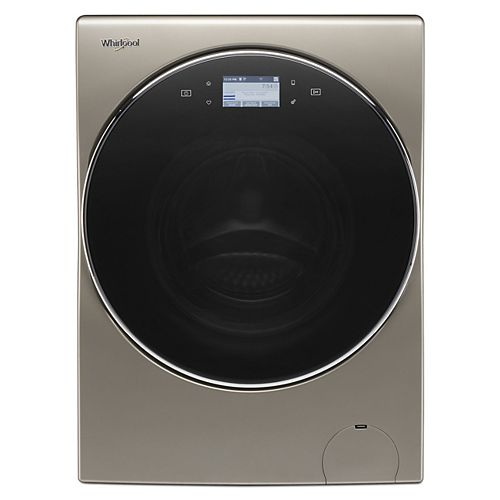 3.2 cu. ft. Smart All-In-One Ventless Washer and Dryer with Load & Go in Cashmere