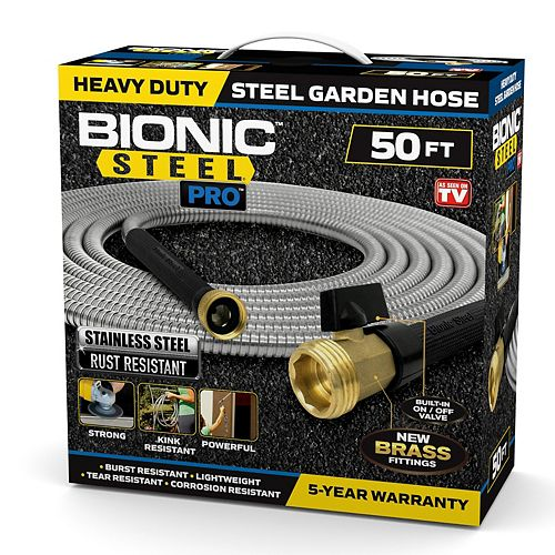 Bionic Steel Pro Stainless Steel Hose 50 ft.