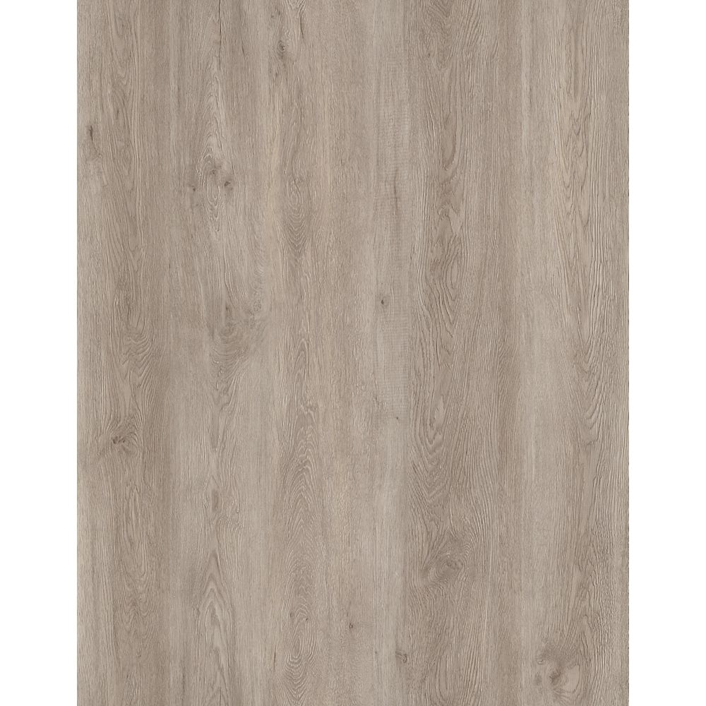TrafficMASTER Taupe Oak 6-inch x 36-inch Peel and Stick Vinyl Plank (18 sq. ft. / case)