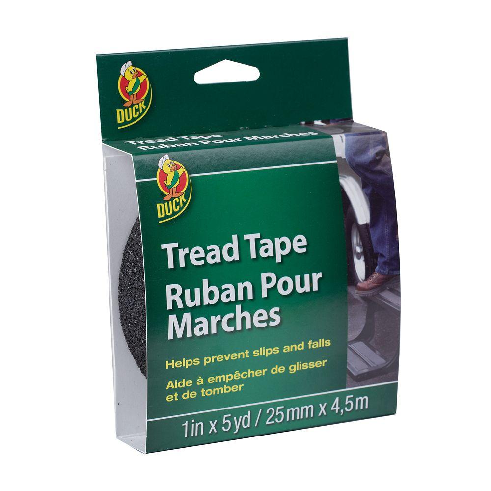 Duck Brand Tread Tape - Black, 1 inch x 5 yd.