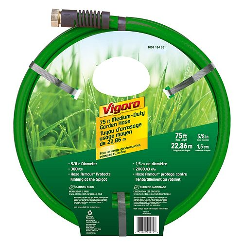 5/8-inch x 75 ft. Medium Duty Hose