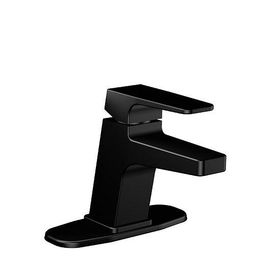 Nolita Single Hole Single-Handle Bathroom Faucet in Matte Black