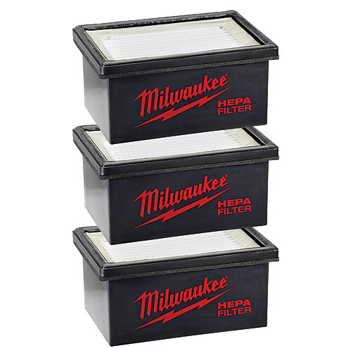 HAMMERVAC Filter Replacement for model 0850-20 (3-Pack)