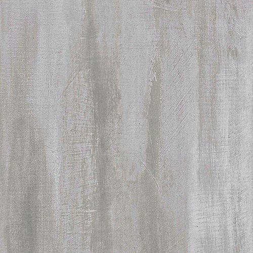 Carreau de revêtement au sol vinyle de luxe Opale en bandes de 12 po x 23,82 po (19,8pi2/boîte)