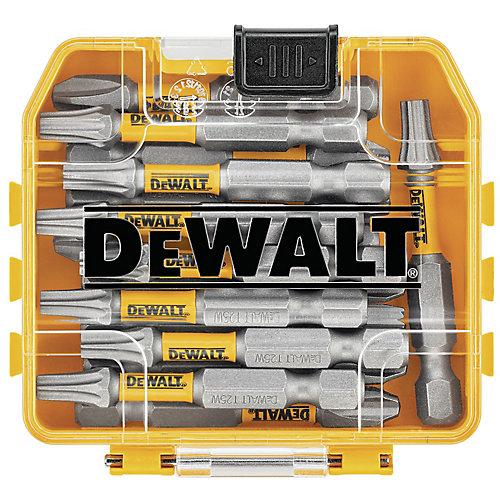 MAXFIT 25 x 2 inch Steel Torx Screwdriving Bit with Storage Box (15PK)
