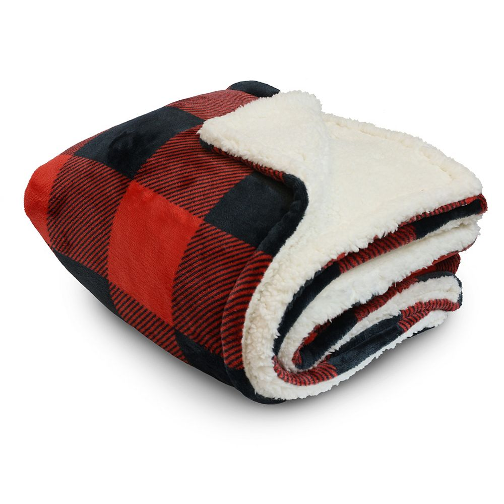 Couture Buffalo Check 50-inch x 60-inch Throw