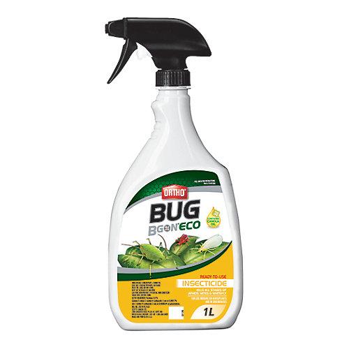 Bug B Gon Eco Insecticide Prêt-À-L'Emploi 1L