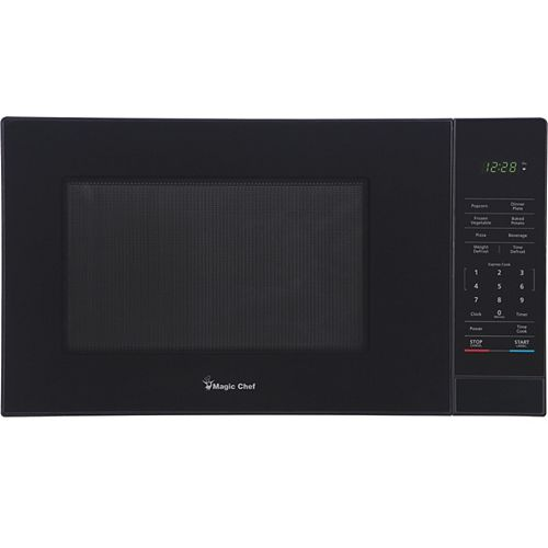 Magic Chef 1.1CF Countertop Microwave, Black