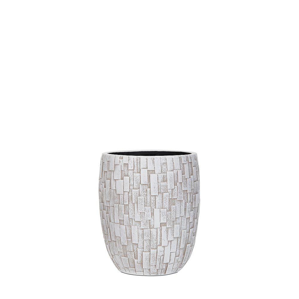 Home Decorators Collection Ivory Elegant Nature Stone Vase