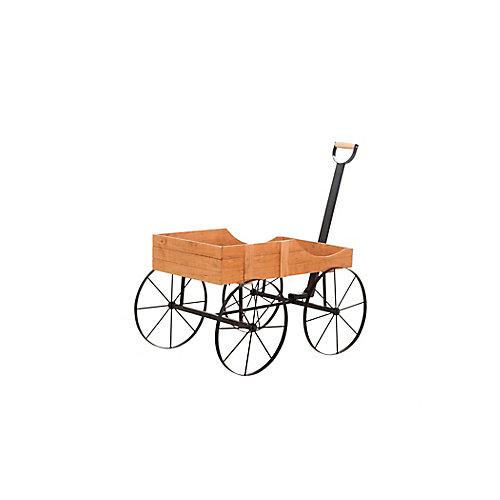 Support de chariot en bois antique