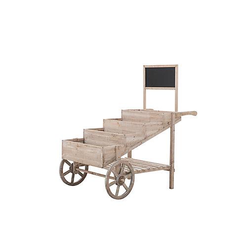 Grocer Chariot en bois