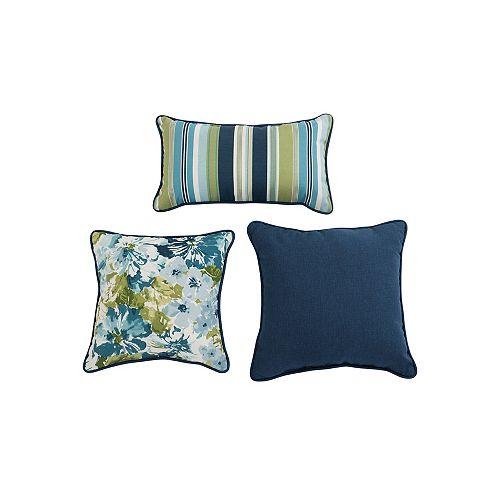 Summer Garden Mallard Pillow Set