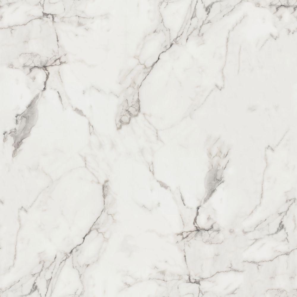 Feuille Stratifié Blanc Brillant 180fx marbre calacatta feuille de stratifié 96 po x 48 po en fini etchings