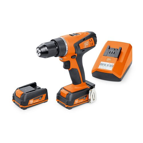 12 Volt Cordless 2-Speed Drill Driver Set With 3 Ah Batteries And Charger