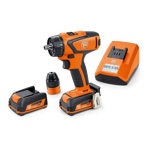 12 Volt Cordless 4-Speed Drill/Driver With 3 Ah Batteries And Charger