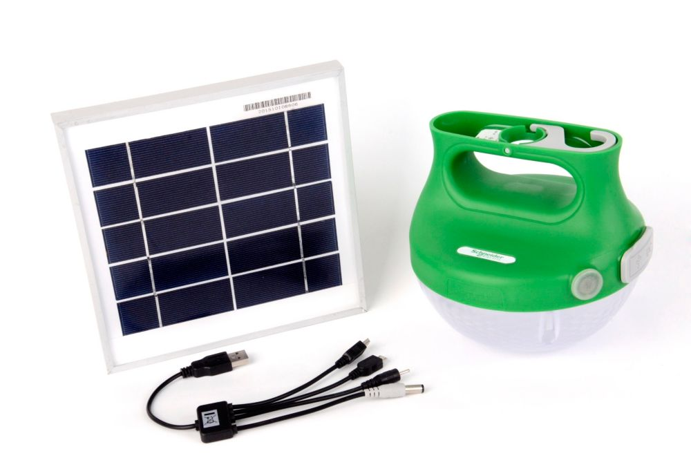 Schneider Electric Mobiya lampe à recharge solaire