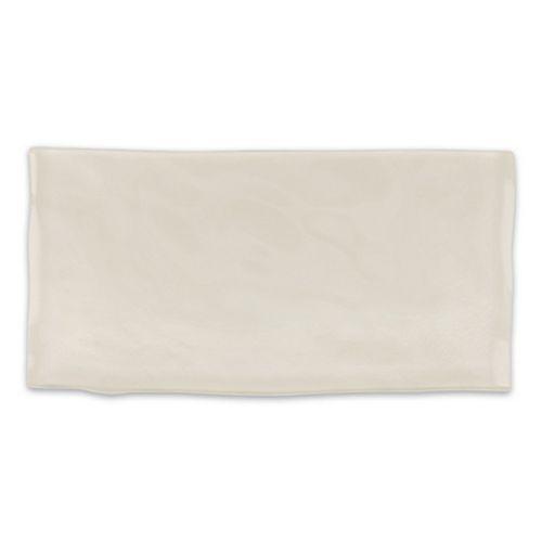 Carreau Artisan, verre, 3x 6po, ivoire, 8,23pi2/boîte