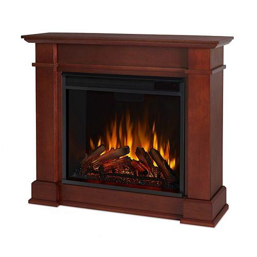 Devin Electric Fireplace in Dark Espresso