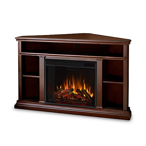 Churchill Electric Fireplace in Espresso