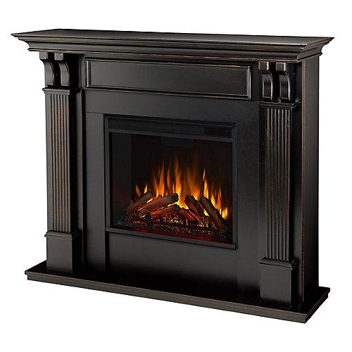 Foyer électrique Ashley, couleur noire