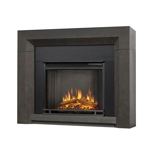 Hughes Electric Fireplace Mantel