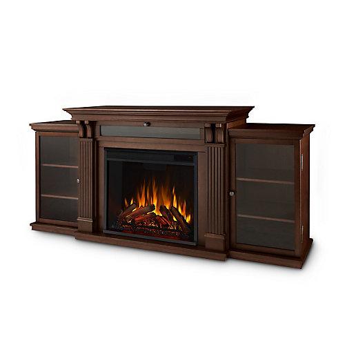 Calie Entertainment Electric Fireplace in Dark Espresso
