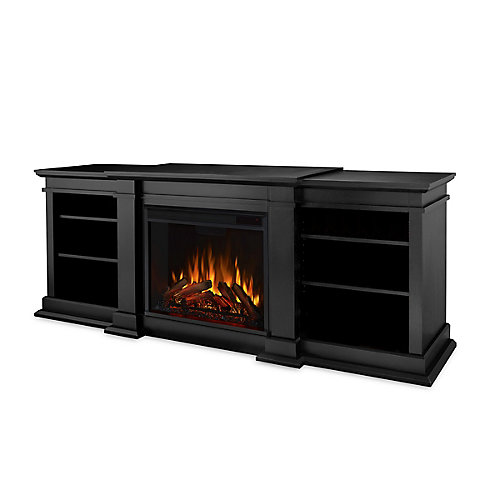 Fresno Electric Fireplace in Black