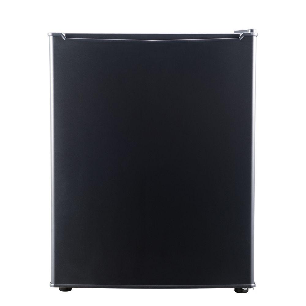 Whirlpool 2.7 cu ft Compact Refrigerator, Black