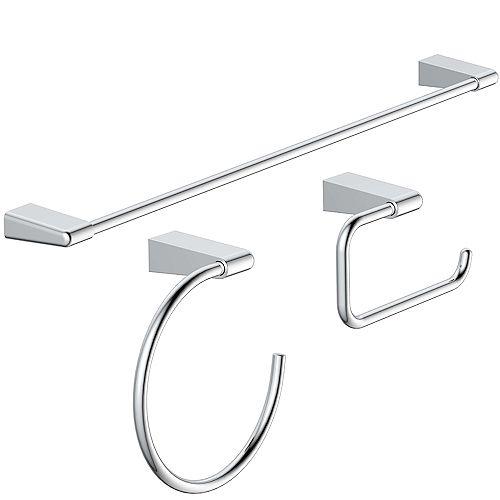 Nolita Bath Accessories Kit in Chrome (3-Piece)