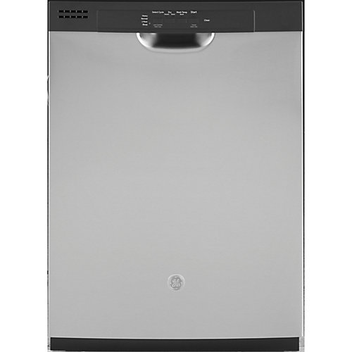 24-inch Front Control Tall Tub Built-in Dishwasher in Stainless steel