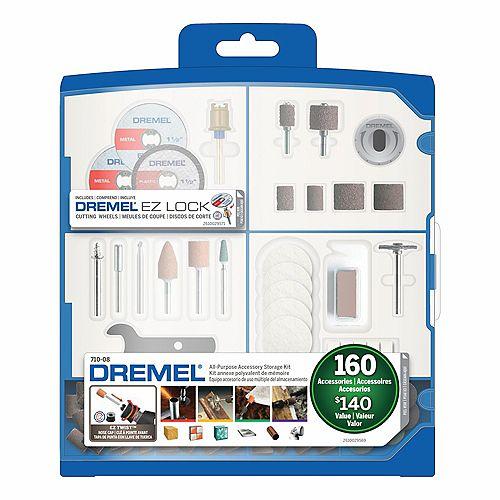 Dremel 710-08 160-Piece All-Purpose Accessory Kit