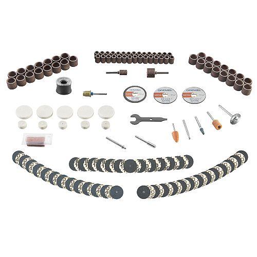 715-01 Kit d'accessoires rotatifs 160 pièces