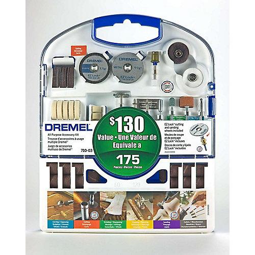 710-03 175-Piece Rotary Accessory Kit