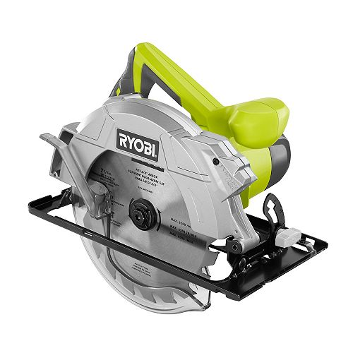 14-Amp 7-1/4-Inch Corded Circular Saw with Laser