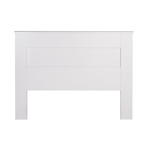 Prepac Queen Flat Panel Headboard - White