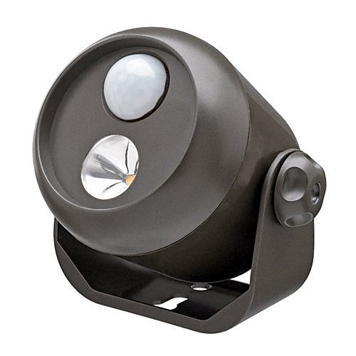 Wireless Motion Sensor LED Spotlight - Brown - 80 lumens - Multi-Purpose