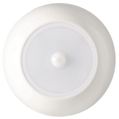 Plafonnier ultra-lumineux à LED avec capteur de mouvement sans fil - Blanc - 300 lumens à usages multiples