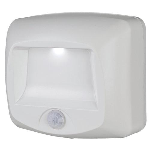 Marchepied/platine LED pour capteur de mouvement sans fil - Blanc - 35 lumens - à usages multiples