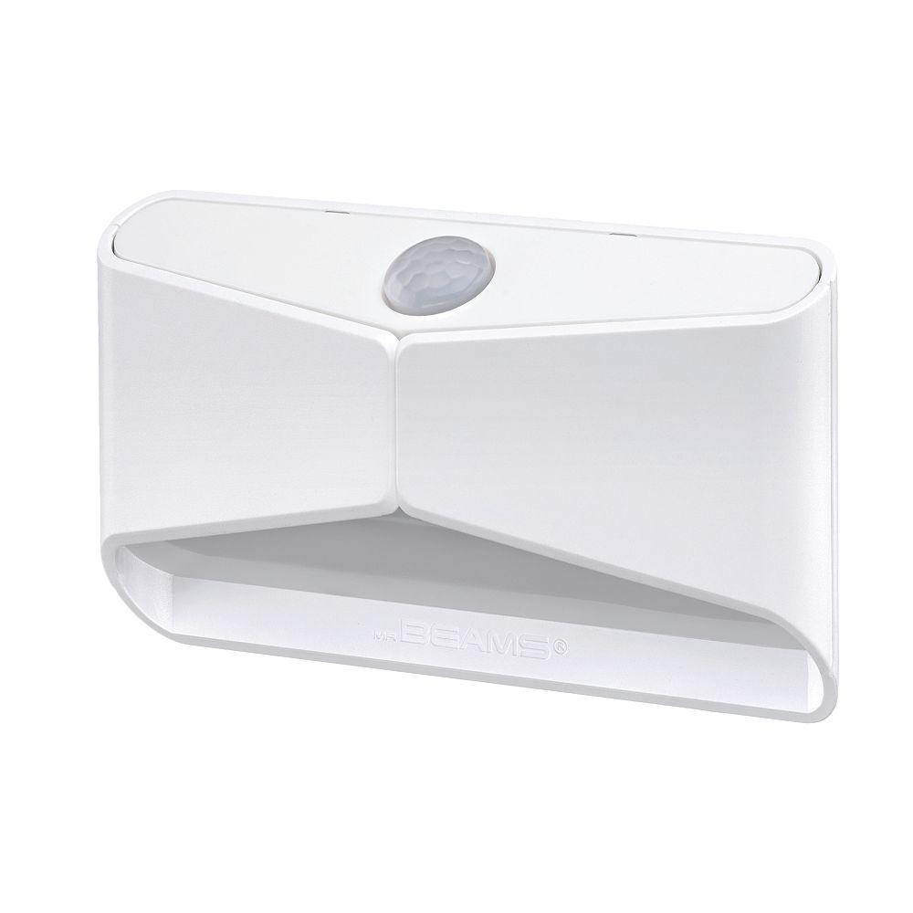 Mr. Beams Wireless Motion Sensor LED Stick Anywhere Light  Shines Downward - White - 15 lumens Multi-Purpose