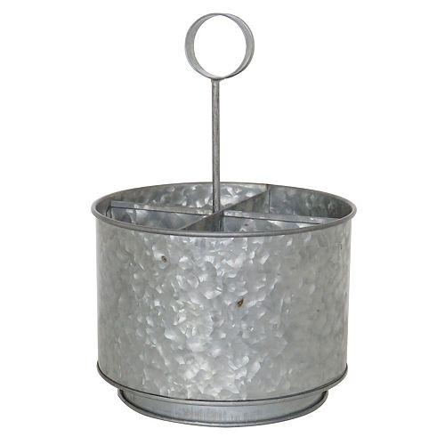 Portoir rond en métal galvanisé