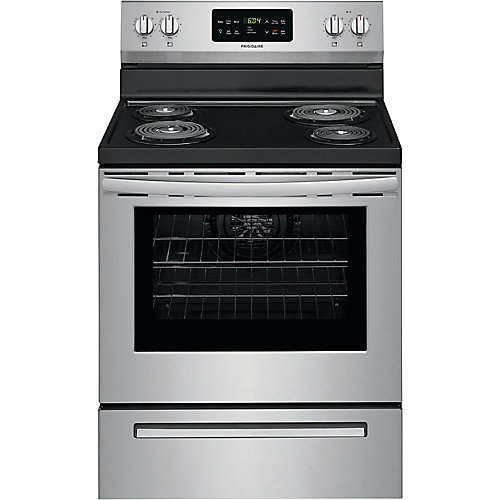30 inch Freestanding Electric Range - Stainless Steel
