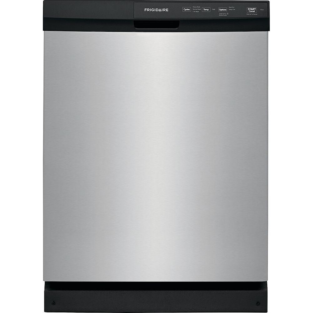 Frigidaire Lave-vaisselle encastré de 24 po en acier inoxydable - ENERGY STAR®