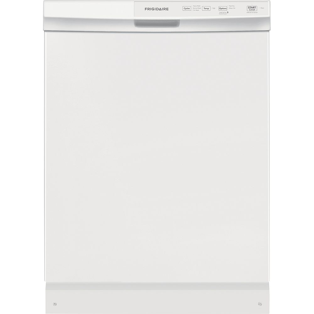 Frigidaire 24-inch Built-In Dishwasher in White - ENERGY STAR®