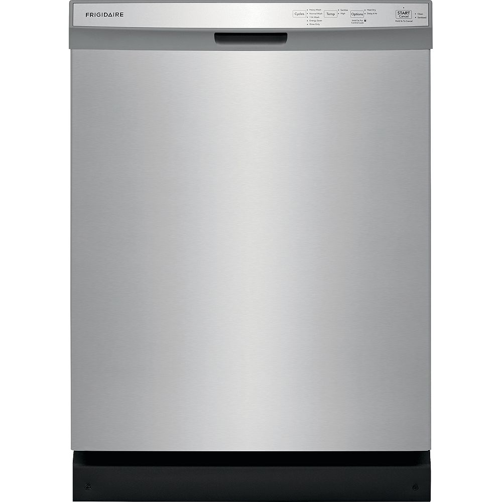 Frigidaire 24-inch Built-In Dishwasher in Stainless Steel - ENERGY STAR®