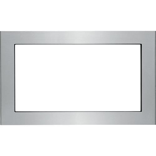 Kit de garniture de 30 po pour four à micro-ondes encastré en acier inoxydable anti-salissure