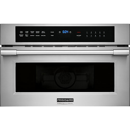 30-inch W 1.6 cu. ft. Built-in Microwave in Stainless Steel
